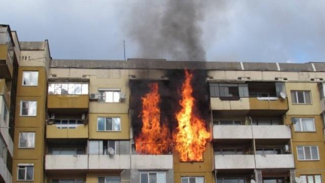 Пожар вилня в апартамент в Монтана, съобщиха от МВР в
