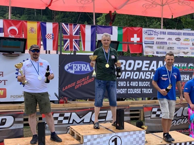 Снимка: Българин стана Европейски шампион на автомоделни спортове край Враца /снимки/