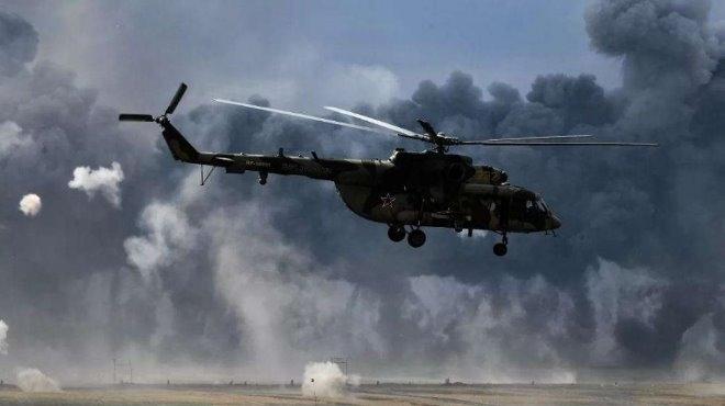 """Хеликоптер """"Ми-8"""" се е разбил на летището край град Анадир"""