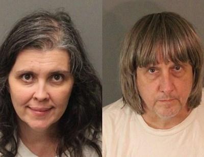 Калифорнийското семейство Дейвид и Луиз Търпин, които са обвинени, че