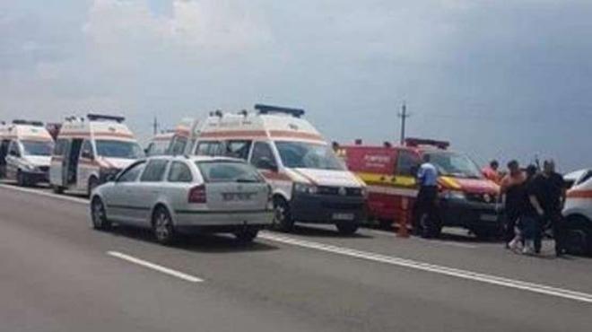 Българин загина в жестока катастрофа с микробус на пътя Русе