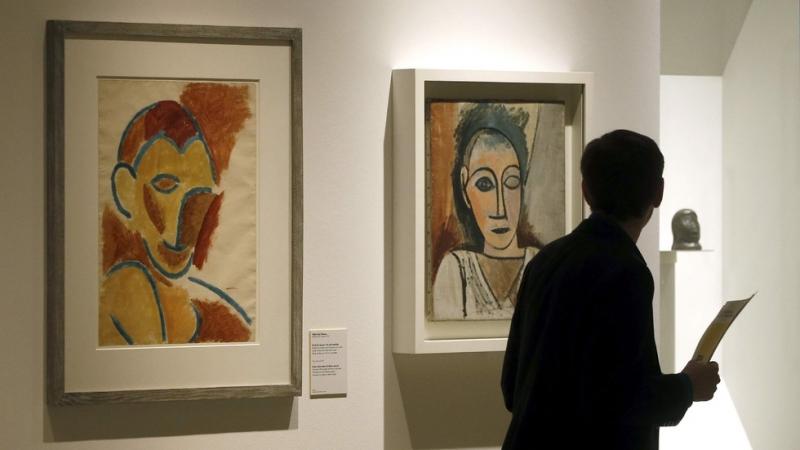 Една от седемте картини, които бяха откраднати през 2012 година