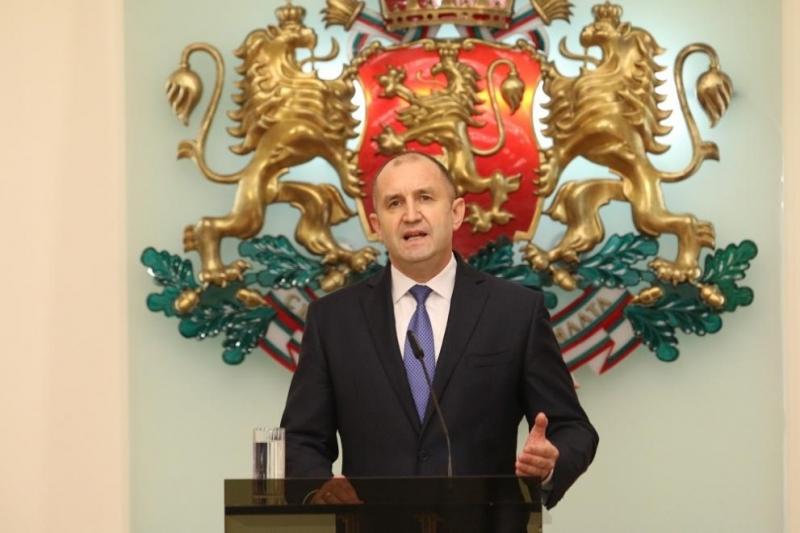 Президентът Румен Радев изрази съболезнования на семейството, близките и колегите