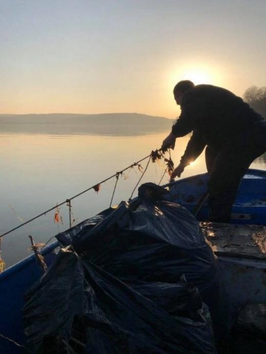 По-рано днес стана ясно, че рибар е извадил огромнаморуна от