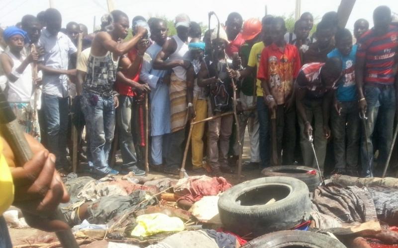 Телата на 66 души, включително деца и жени, бяха открити