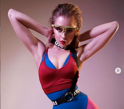 Анастасия Золотая разпалва мъжките фантазии с нов спорт /снимки/