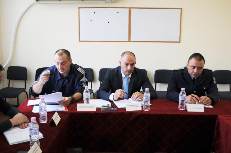 Работна среща по покана на директора на ОД МВР Враца