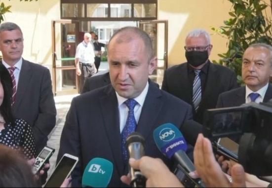 Румен Радев: Последните записи, за които се твърди, че са с премиера Борисов, са тревожни