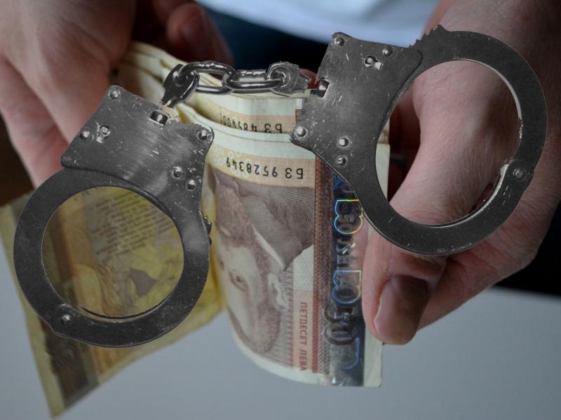 Софийската градска прокуратура задържа полицейски инспектор за подкуп. Разследването по