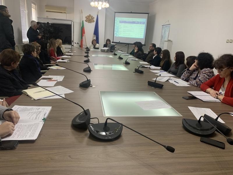 Заседание на Областната комисия по заетост за съгласуване на Държавния