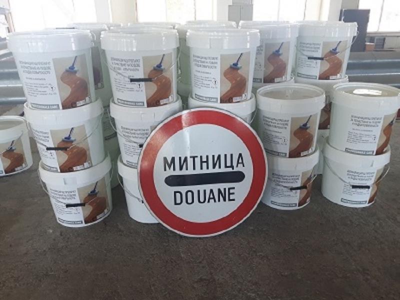 Мобилен екип на Митница Лом задържа 860 литра етилов алкохол,