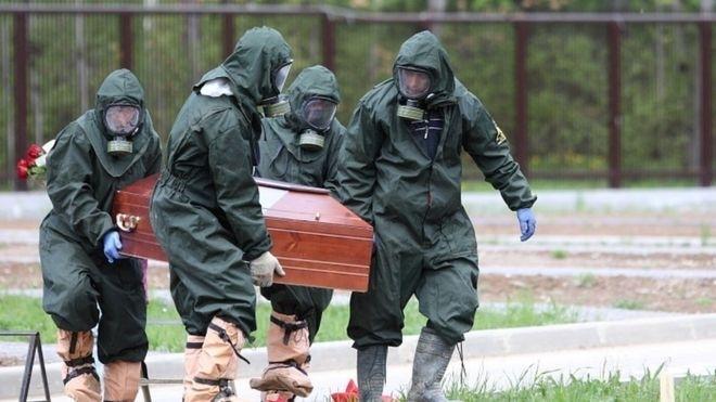 Русия регистрира рекорден брой смъртни случаи от COVID-19
