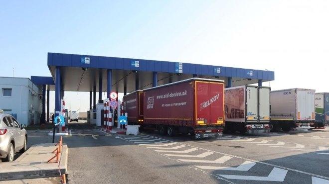 """Възстановено е пропускането на товарни автомобили през ГКПП """"Капитан Петко"""