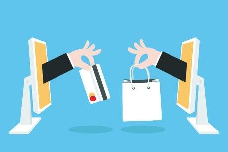 Търговците, които използват собствени или наети електронни магазини или публично