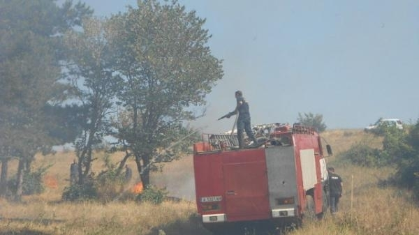 Вчера екипи на пожарната безопасност в Монтана са гасили пожари