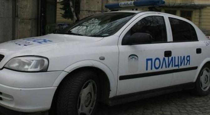 Змия се шмугна в ходовата част на полицейска патрулка, паркирана