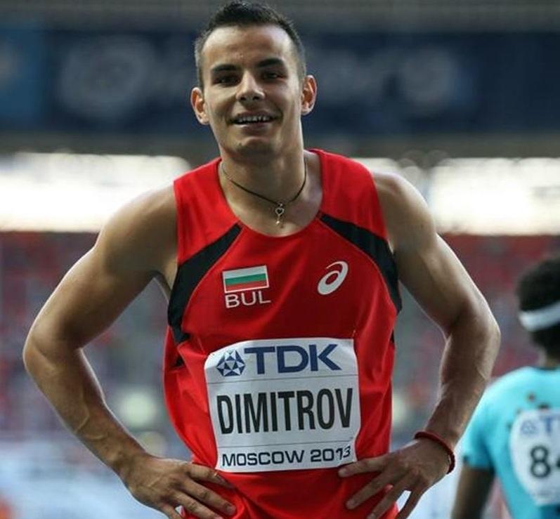 Денис Димитров финишира с четвърто време в бягането на 200