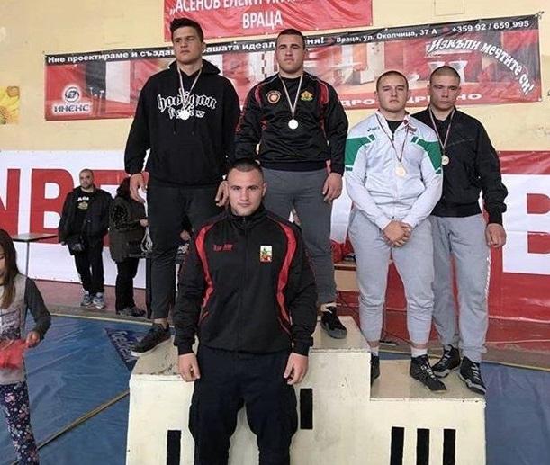 Снимка: Борците на Слава/Монтана/ взеха 4 медала от международен турнир