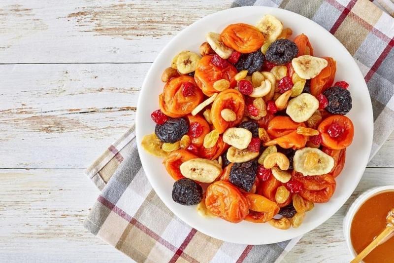 Много хора избягват сушените плодове заради относително високото им съдържание
