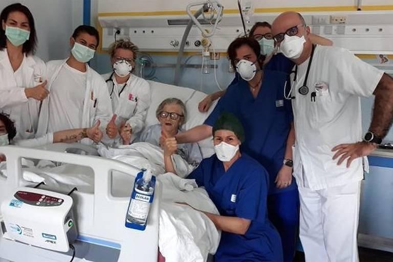 Поредна италианска столетница пребори коронавируса, съобщават италиански електрони издания, циирани