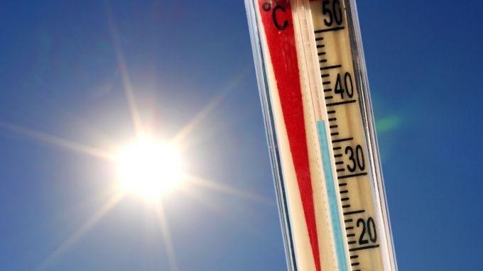 Видин е най-горещият областен град в Северозапада, с температура от