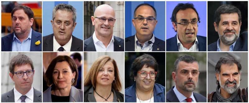 Между 9 и 13 години затвор получиха каталунските сепаратисти