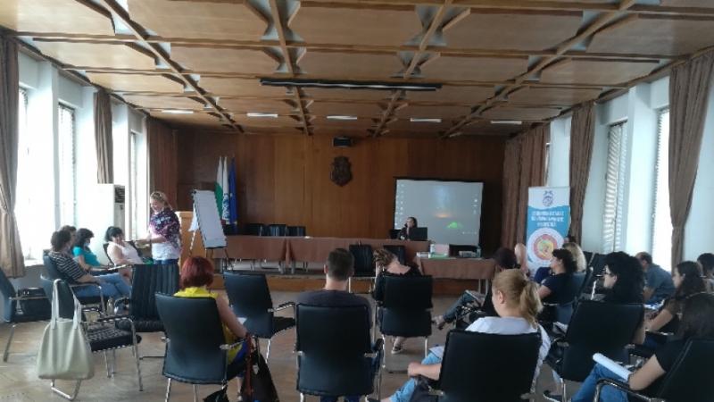 Общинският съвет по наркотичните вещества проведе обучение на социални работници