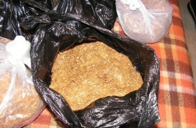 Полицията е открила контрабанден тютюн по време на специализирана акция