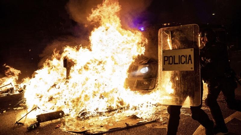 Външно министерство предупреди българите да не пътуват към Барселона