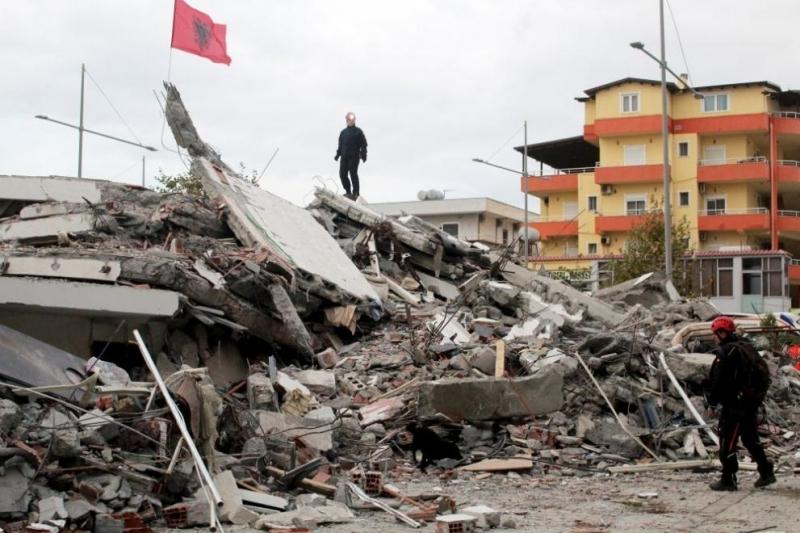 Две седмици след земетресението, което удари Албания с магнитуд от