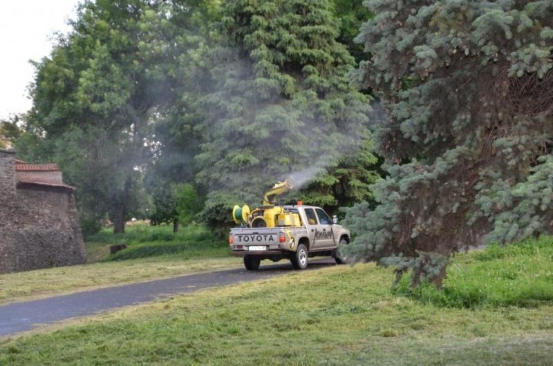 Община Видинпредприема извънредна обработка срещу комари.Причината е по-голямата популация на