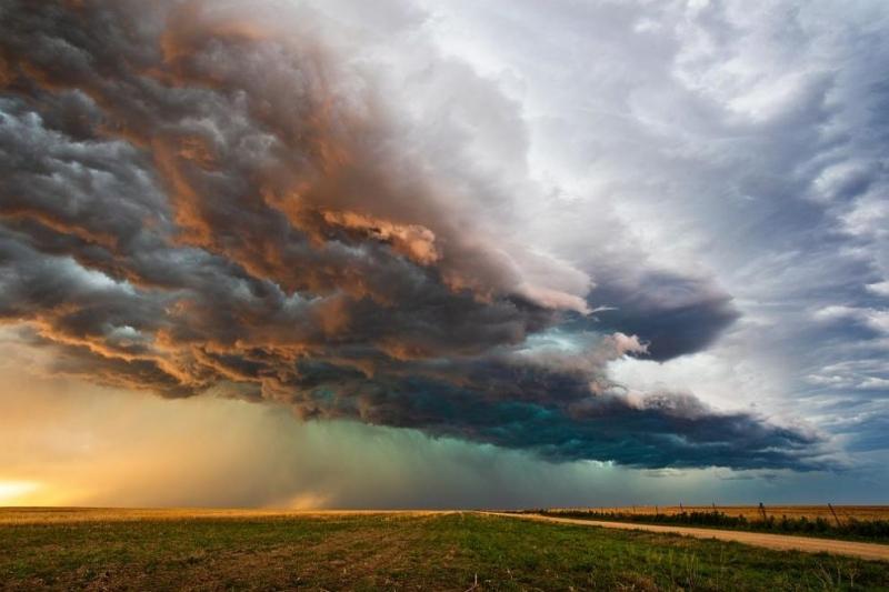 За днес е обявенжълт код за силен северозападен вятър в
