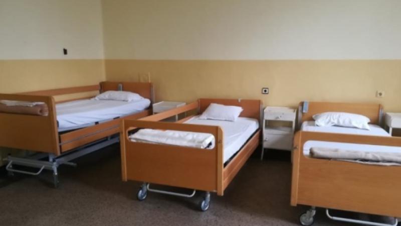 Най-малко болнични легла за пациенти с COVID-19 от всички региони