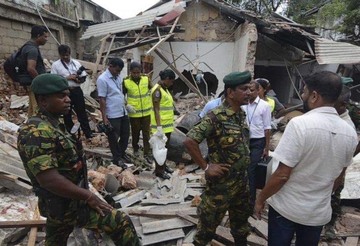 Експлозия разтърси шриланкийския град Пугода, на 40 километра от столицата