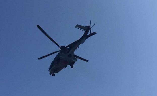 Италианските власти заловиха двама български крадци след преследване с хеликоптер,