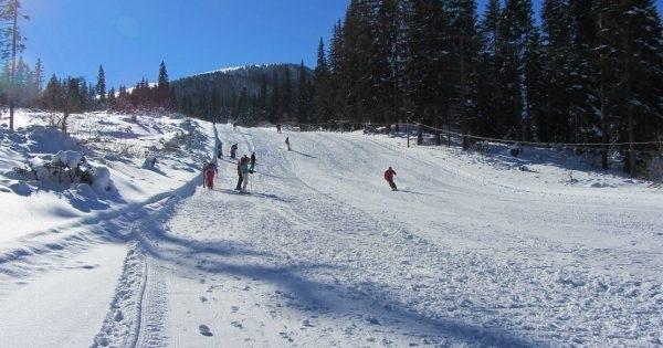 Зимата вече натрупа добра снежна покривка и в Северозападния Балкан