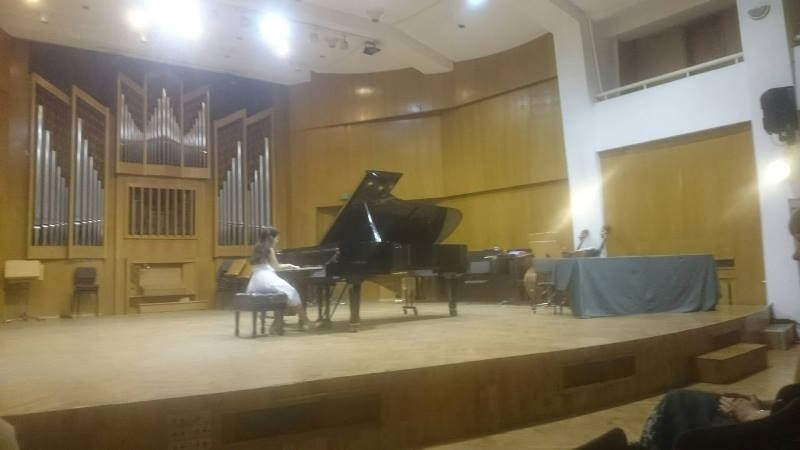 Снимка: Талантливата пианистка Елица от Враца спечели поредно отличие