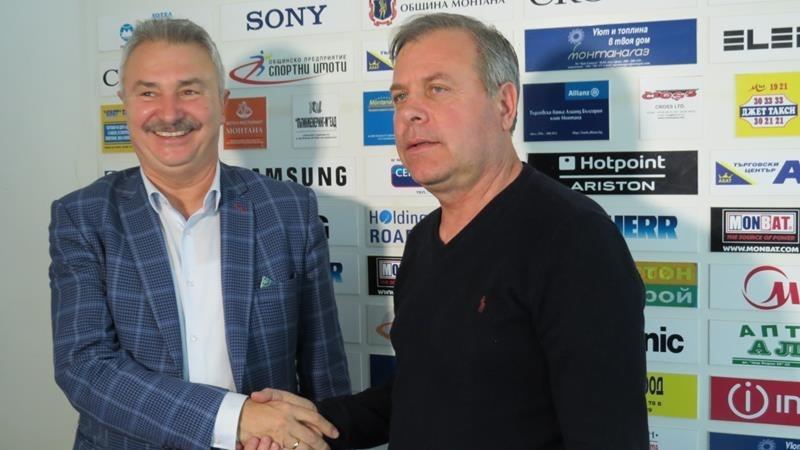 Стефан Генов бе представен днес като новият старши треньор на