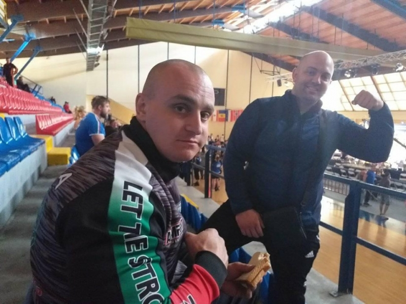 Национал от Врачанско извоюва бронзов медал по канадска борба в Гърция