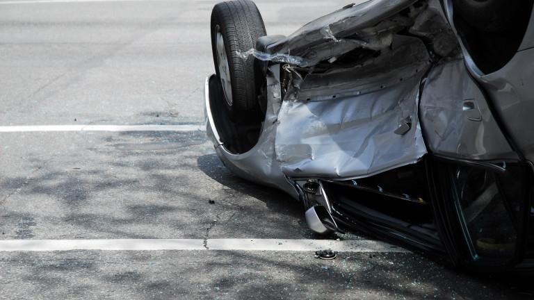 Двама души пострадаха при катастрофа в центъра на София, съобщава