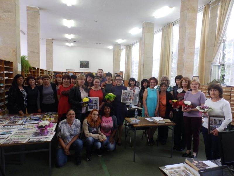 Завърши обучението на библиотечни специалисти в библиотеката в Монтана