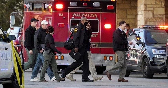 Стрелба в предградие на Милуоки, има ранени /снимки/