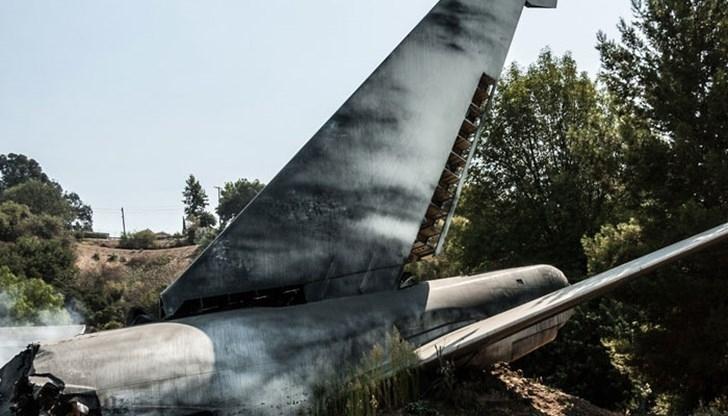 Турски учебен самолет се разби днес в югозападния окръг Денизли,