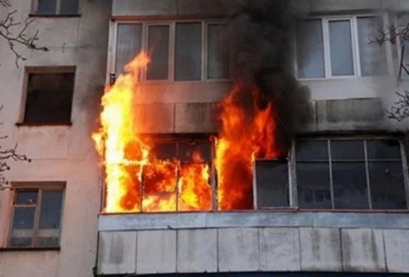 Пожар вилня в апартамент в Монтана, съобщиха от МВР. Случката