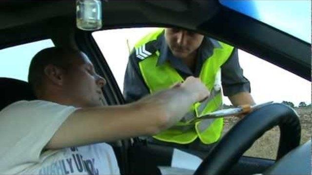 Неправоспособен е заловен да юрка кола без номера из Монтанско,
