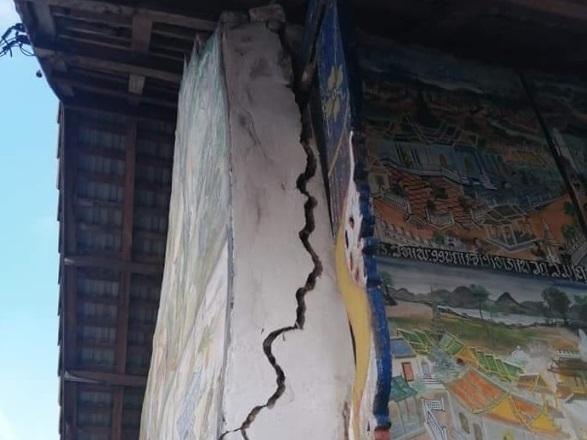 Силно земетресение беше регистрирано на границата между Тайланд и Лаос,