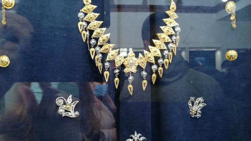 """Изложба """"Накитът - епоха и култура"""" бе открита днес в"""