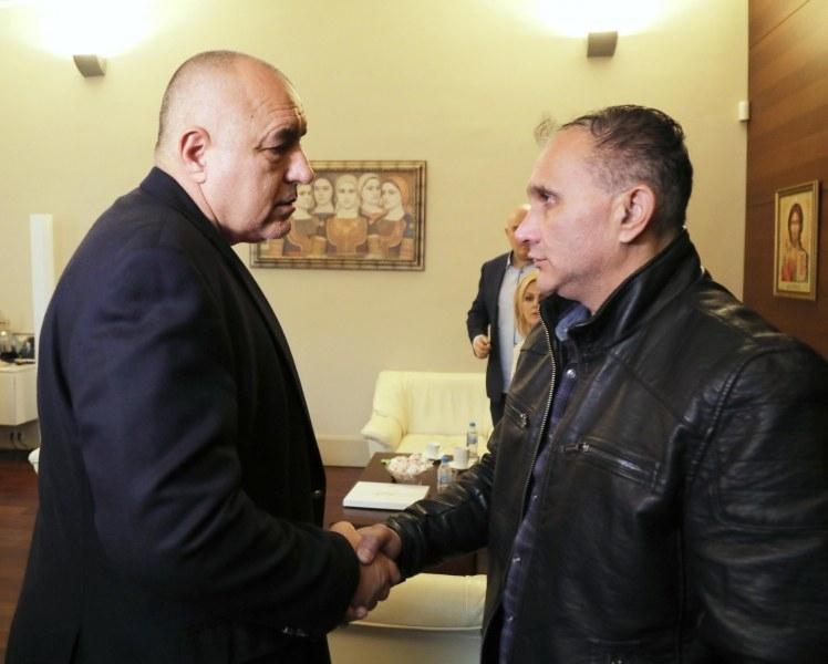 Бащата на убитата Андреа от Галиче се срещна с Борисов /снимки/