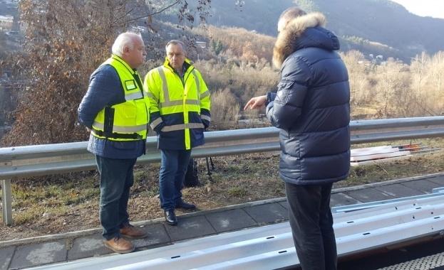На пътя Своге - София се поставя най-високият клас обезопасителни