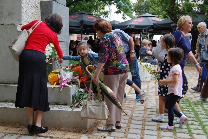 Монтана отбеляза 181-вата годишнина от рождението на Васил Левски с